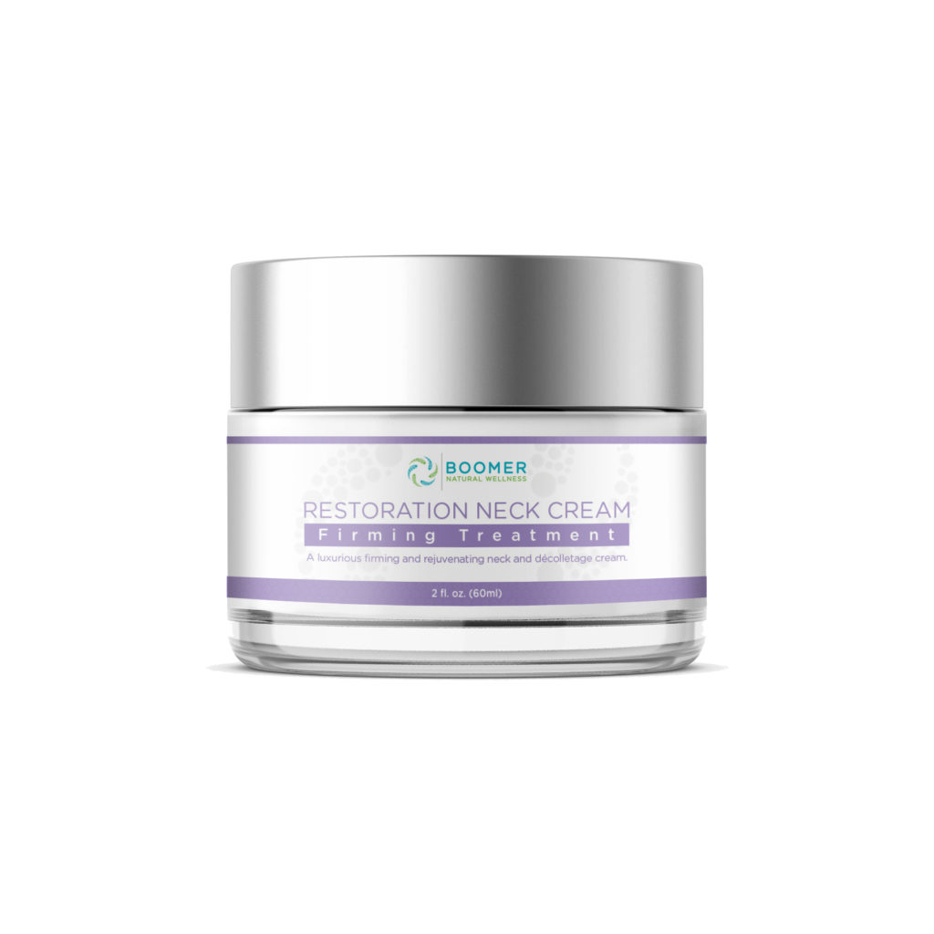 Restoration neck cream medical grade skin care – CBD, hemp products, medical grade skin care & wellness coaching